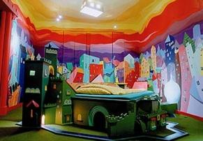 Castle Room, no Propeller Island City Lodge, em Berlim
