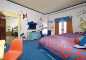 Dr Seuss Suite, no Loews Portofino Bay, em Orlando