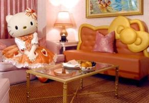 Hello Kitty Rooms, no Grand Hi Lai Hotel, em Taiwan