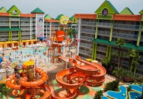 Nickelodeon Suites Resort, em Orlando, nos Estados Unidos