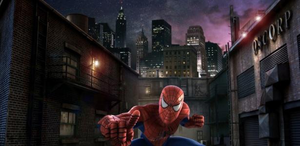 Imagem da nova animação do brinquedo do Homem-Aranha, na Universal de Orlando - Divulgação/Universal