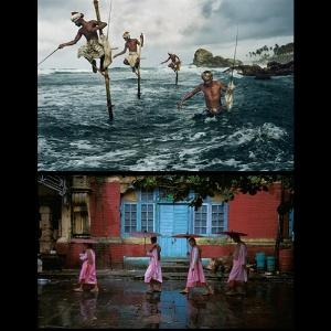 Fotos da exposicao de Steve McCurry no Instituto Tomie Ohtake, em São Paulo - Steve McCurry / Montagem UOL / Divulgação Tomie Ohtake