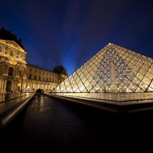 Museu do Louvre, em Paris, na França - EFE